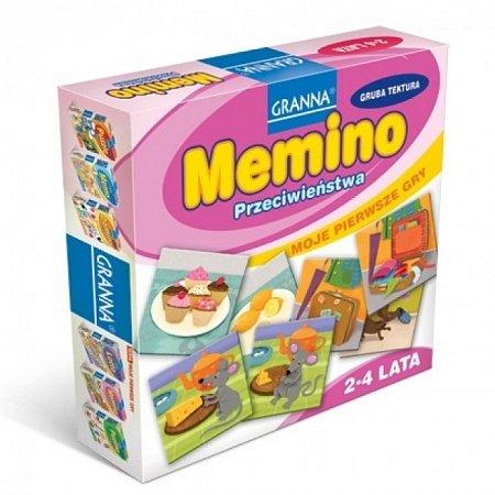 Настольная игра Мемино, Granna (11395) Intex