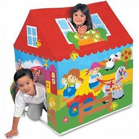 Игровой домик-палатка Веселый Коттедж. Intex 45642