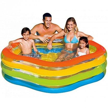 Бассейн семейный Summer Colors. Intex 56495