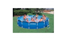 Бассейн каркасный Metal Frame Pool 457. Intex 56949