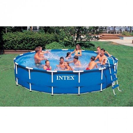 Бассейн каркасный Metal Frame Pool 457. Intex 56949
