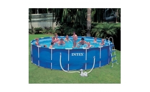 Бассейн каркасный Metal Frame Pool 549. Intex 56952