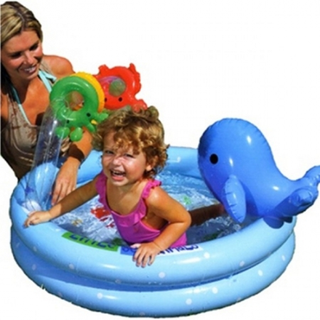 Детский бассейн Дельфинчик. Intex 57400