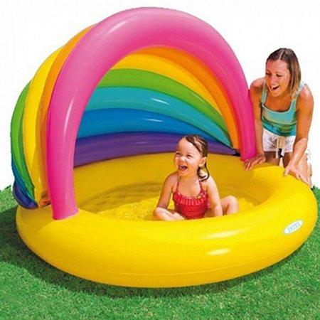 Детский бассейн Rainbow Shade. Intex 57420