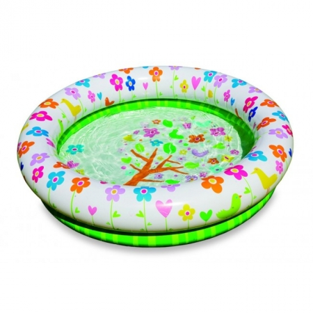 Детский бассейн круглый Цветы. Intex 57427