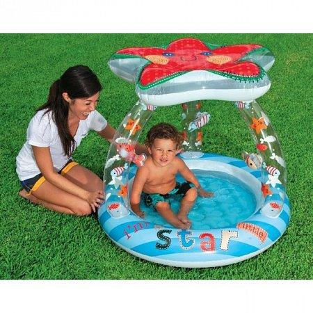 Детский бассейн круглый Звезда. Intex 57428