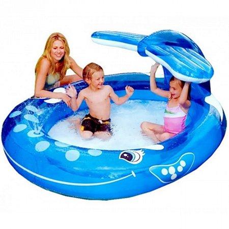 Детский бассейн Веселый кит. Intex 57435