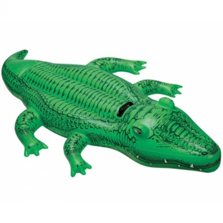 Надувной плотик Крокодил. Intex 58546