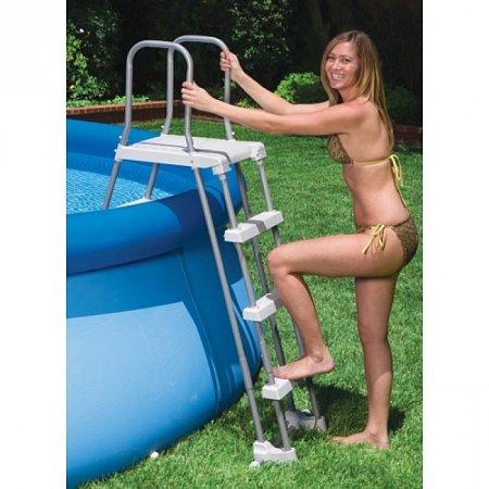 Лестница для бассейна Deluxe. Intex 58969