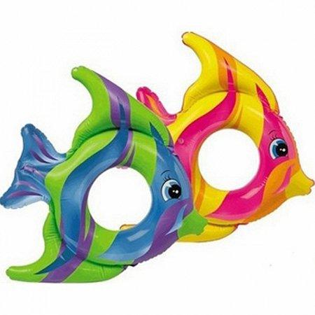 Надувной круг Тропическая рыба. Intex 59219