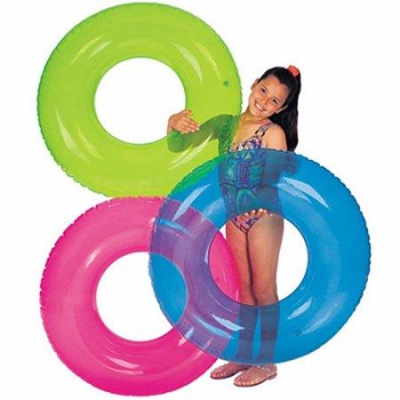 Надувной круг прозрачный. Intex 59260