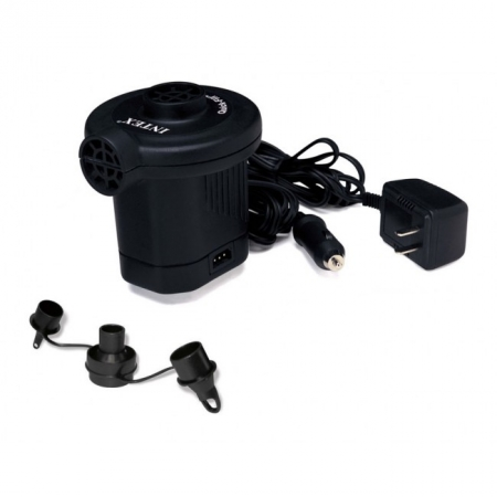 Воздушный насос электрический 220В-12В. Intex 66622