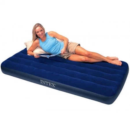 Матрас надувной King Downy Royal Blue 99. Intex 68757