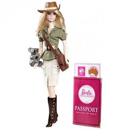 Кукла Барби «Австралия» из серии «Страны мира» Mattel