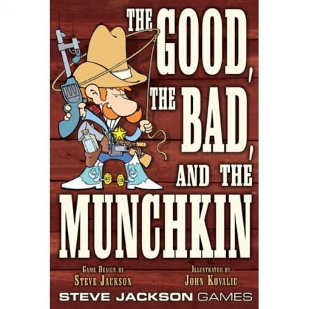 The Good, the Bad, and the Munchkin (на английском языке)