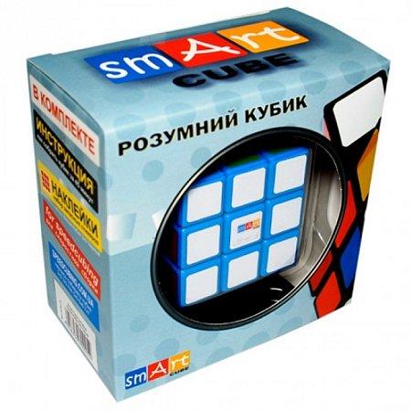 Кубик Рубика 3х3х3 с синей основой. Smart Cube