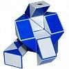 Змейка Рубика (blue-white). Smart Cube