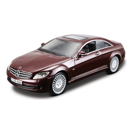 Авто-конструктор MERCEDES BENZ CL550 (серый, 1:32)