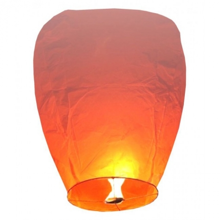 Китайский небесный фонарик, форма - купол, большой