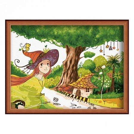 Раскраска по номерам Сказка (30х40), Color Kit CE011
