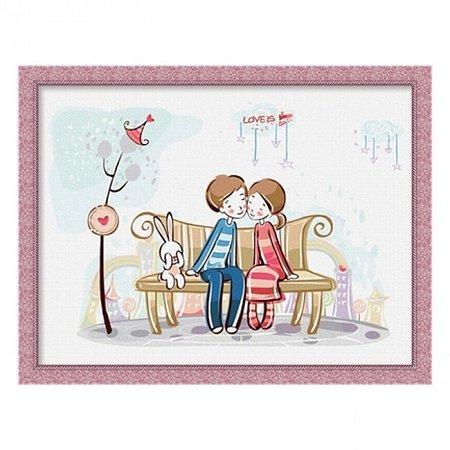 Раскраска по номерам Love (30х40), Color Kit CE001