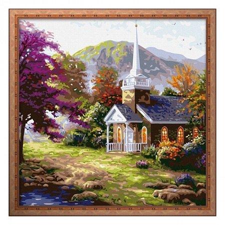 Раскраска по номерам Усадьба (40х40), Color Kit CF003