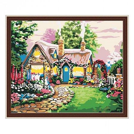Раскраска по номерам Сказочный домик (40х50), Color Kit CG047