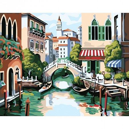 Раскраска по номерам Венеция (40х50), Color Kit CG175
