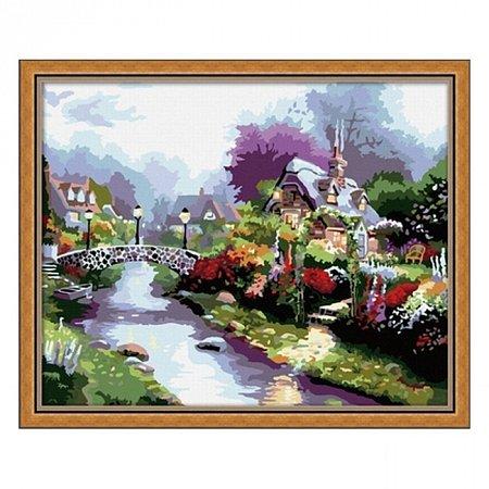 Раскраска по номерам После дождя (40х50), Color Kit CG018