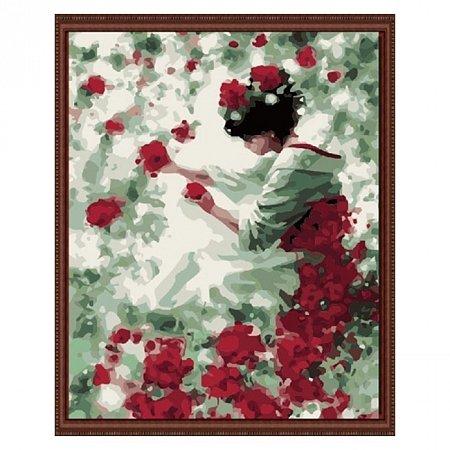 Раскраска по номерам Гейша (40х50), Color Kit CG144