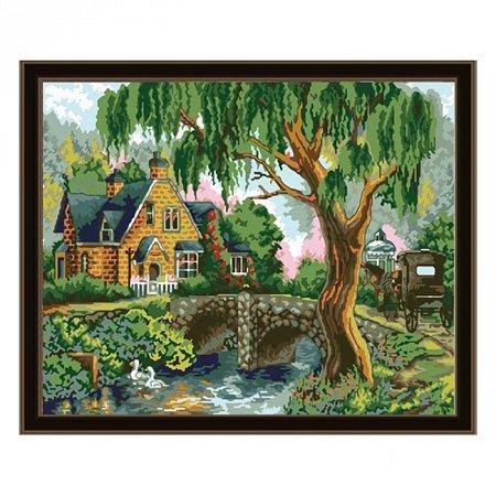 Раскраска по номерам Летний пейзаж (40х50), Color Kit CG161