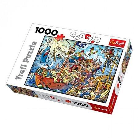 Пазл Trefl - Пираты. 1000 pcs (10284)
