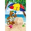 Пазл Trefl Maxi 24 - Скуби-Ду на пляже. 24 pcs (14115)