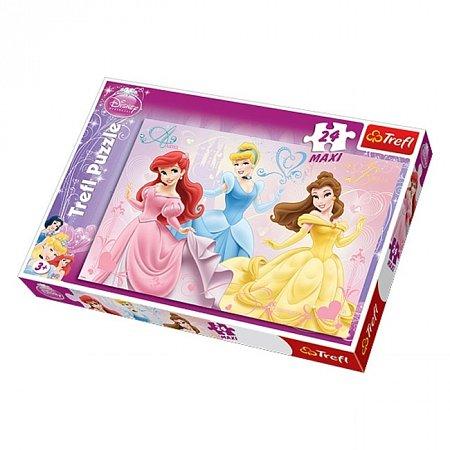 Пазл Trefl Maxi 24 - Три принцессы. 24 pcs (14125)