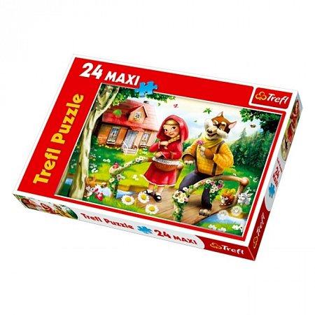 Пазл Trefl Maxi 24 - Красная Шапочка. 24 pcs (14130)