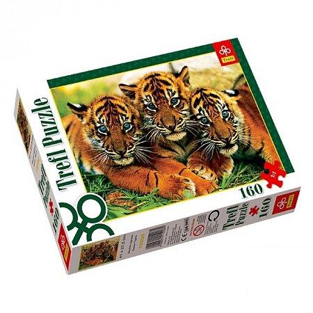 Пазл Trefl - Тигрята. 160 pcs (15208)