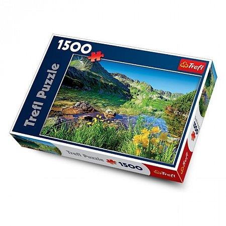 Пазл Trefl - Озеро Вельки-Став, Татры. 1500 pcs (26089)