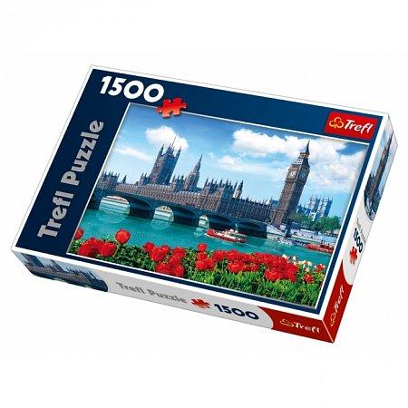Пазл Trefl - Здание Парламента, Лондон. 1500 pcs (26104)