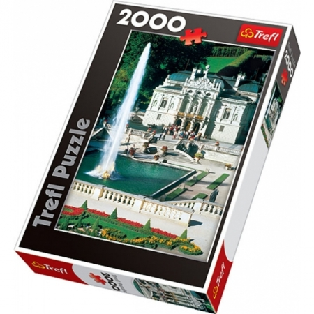 Пазл Trefl - Дворец Линдерхоф. 2000 pcs (27062)