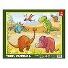 Пазл рамочный Trefl - Динозавры. 6 pcs (31075)