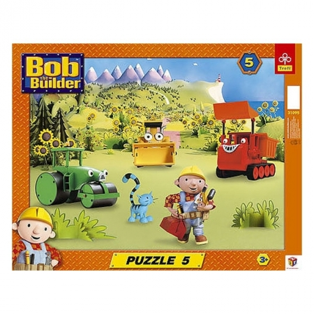Пазл рамочный Trefl - Боб с друзьями. 5 pcs (31095)