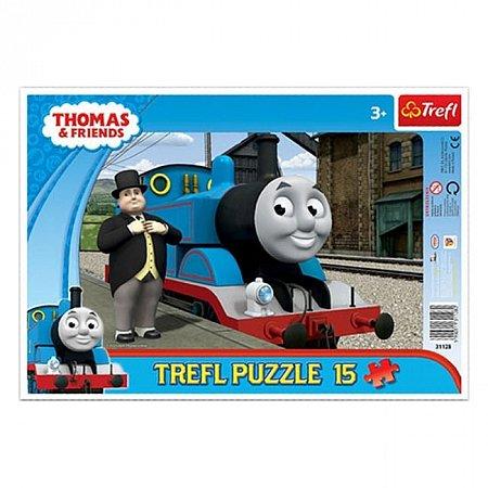 Пазл рамочный Trefl - Томас и друзья. 15 pcs (31128)