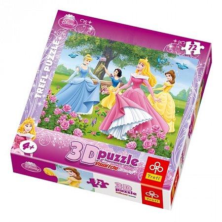 Пазл Trefl 3D - Розовый сад. 72 pcs (35537)