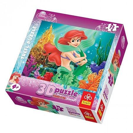 Пазл Trefl 3D - Русалочка. 72 pcs (35541)