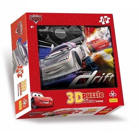 Пазл Trefl 3D - Тачки-2 Дрифт. 120 pcs (35645)