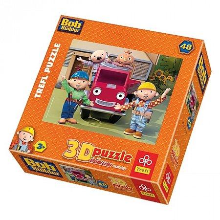Пазл Trefl 3D - Боб с друзьями. 48 pcs (35722)