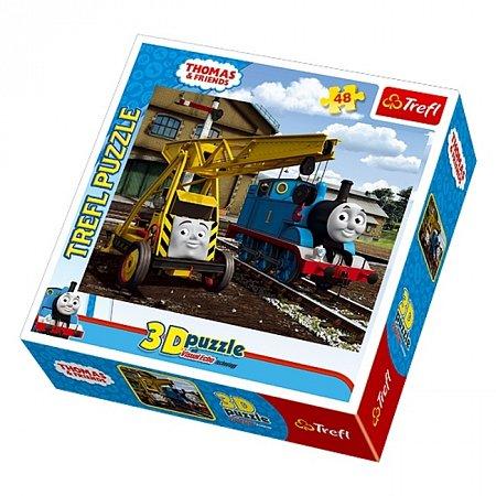 Пазл Trefl 3D - Томас и Камил. 48 pcs (35733)