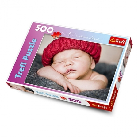 Пазл Trefl - Спящий малыш. 500 pcs (37139)