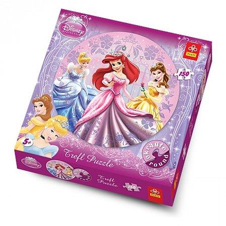 Пазлы Trefl круглые - Три принцессы. 150 pcs (39048)