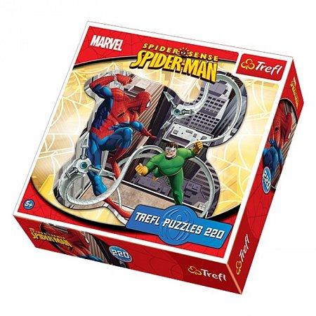Пазлы Trefl контурные - Spiderman. 220 pcs (39079)